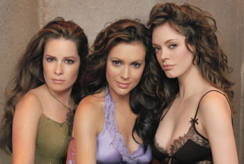 O elenco original de Charmed